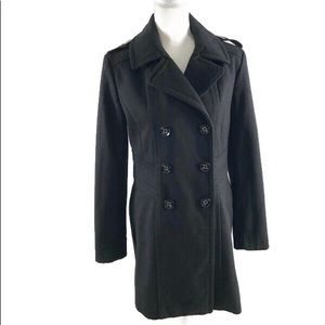 Kenneth Cole New York Wool Blend Peacoat